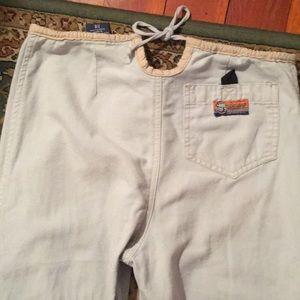 Bulldog pants.  Vintage lounge pants.  ADORABLE!!